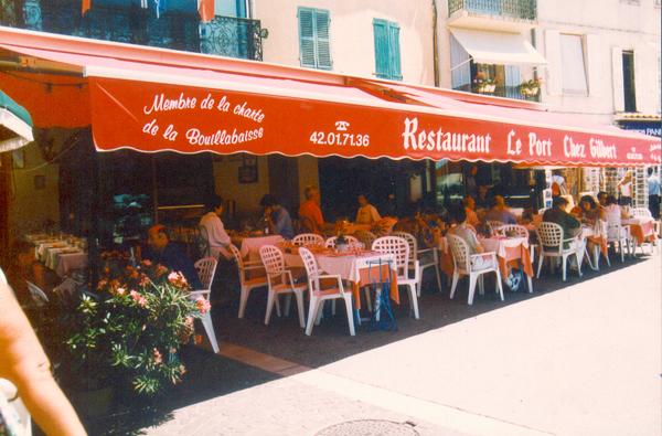 restaurant chez gilbert cassis