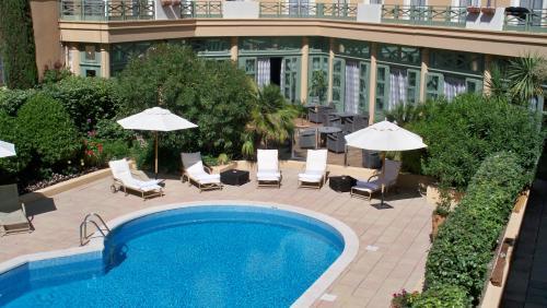 piscine hotel aix