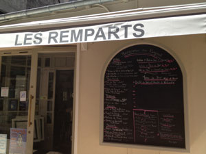 Restaurant les Remparts - Restaurant Saintes