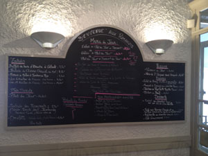 menu restaurant les remparts