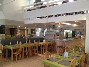 Intérieur restaurant les remparts à Saintes