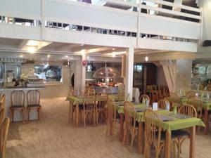 salle restaurant remparts de Saintes