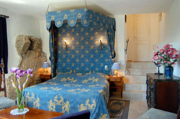 chambre chateau de trigance